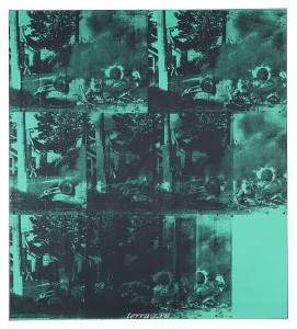 Энди Уорхол «Авария зеленой машины»