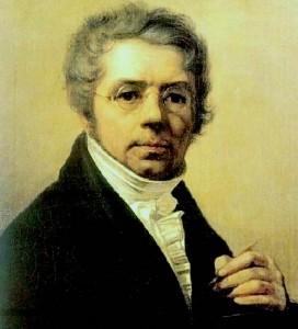 А.Г. Венецианов - Автопортрет. Старинная русская живопись