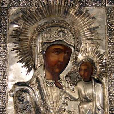 НЕТ В НАЛИЧИИ - лот №I000169 Казанская икона Божией Матери