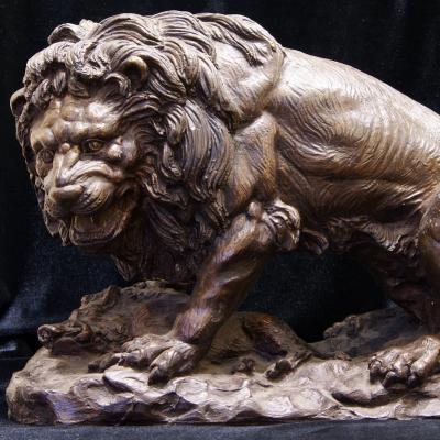 НЕТ В НАЛИЧИИ - лот №M000136 Фигура «Лев»