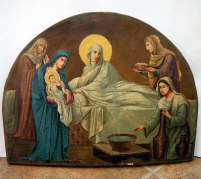 лот №I000166 Рождество Пресвятой Богородицы