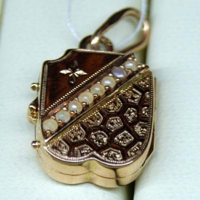 НЕТ В НАЛИЧИИ - лот №J000191 Медальон