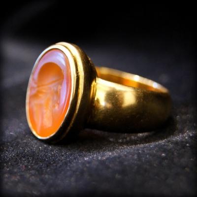 НЕТ В НАЛИЧИИ - лот №J000132 Кольцо с геммой