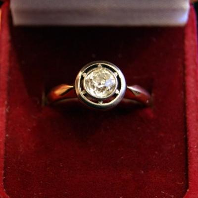 НЕТ В НАЛИЧИИ - лот №J000205 Кольцо с бриллиантом