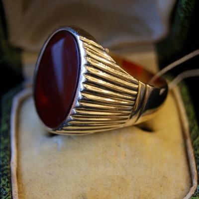 НЕТ В НАЛИЧИИ - лот №J000353 Перстень с сердоликом