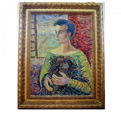 лот №A000176 Портрет женщины