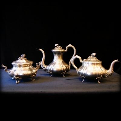 лот №S000243 Чайно-кофейный сервиз
