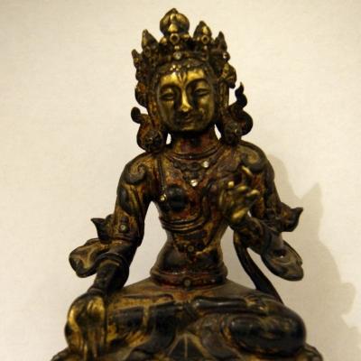 НЕТ В НАЛИЧИИ - лот №B000185 Буддийская статуэтка