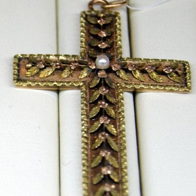 НЕТ В НАЛИЧИИ - лот №J000181 Крест нательный