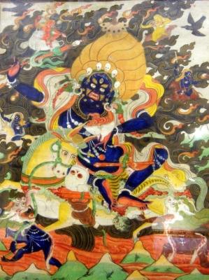 НЕТ В НАЛИЧИИ - лот №A000141 Индийское божество