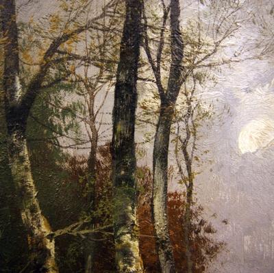 НЕТ В НАЛИЧИИ - лот №A000215 Парные картины «Лесные пейзажи»
