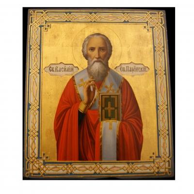 лот №I000153 Святитель Василий, епископ Парийский