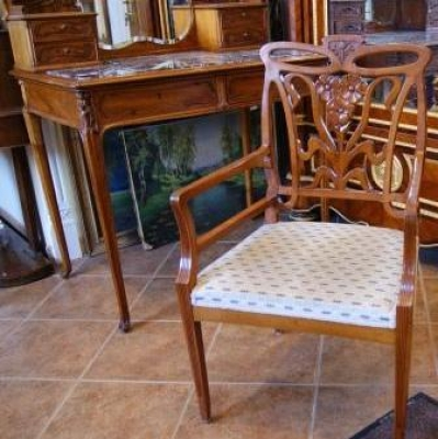 НЕТ В НАЛИЧИИ - лот №F000158 Туалетный столик со стулом