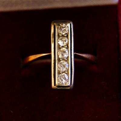 НЕТ В НАЛИЧИИ - лот №J000202 Кольцо с бриллиантами