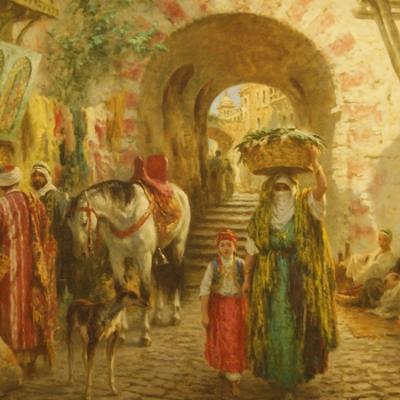 НЕТ В НАЛИЧИИ - лот №A000195 Восточный базар