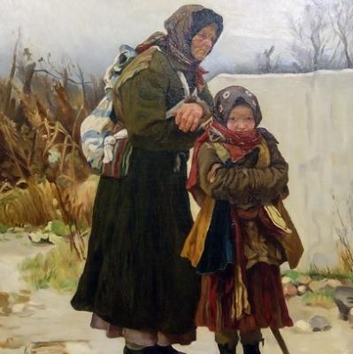 НЕТ В НАЛИЧИИ - лот №A000236 Бабушка с внучкой