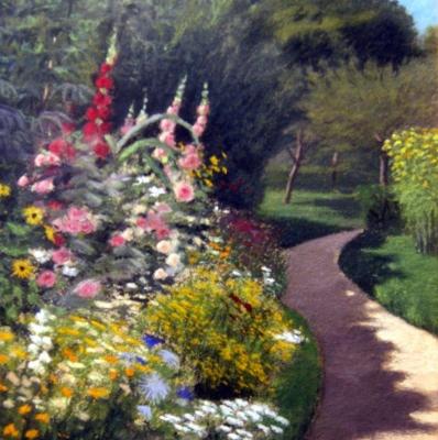 НЕТ В НАЛИЧИИ - лот №A000245 Цветы в саду