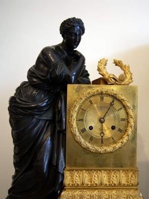 НЕТ В НАЛИЧИИ - лот №C000136 Каминные часы