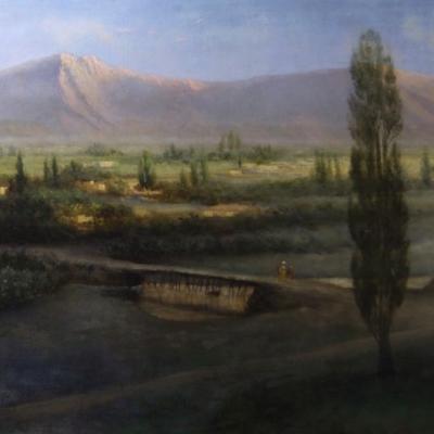 НЕТ В НАЛИЧИИ - лот №A000166 Крымский пейзаж