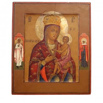 НЕТ В НАЛИЧИИ - лот №I000186 Икона Божией Матери «О Всепетая Мати»