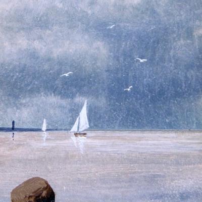НЕТ В НАЛИЧИИ - лот №A000211 Морской пейзаж