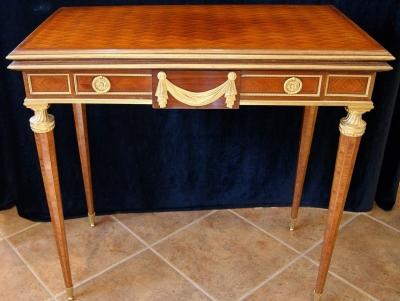 НЕТ В НАЛИЧИИ - лот №F000138 Ломберный столик