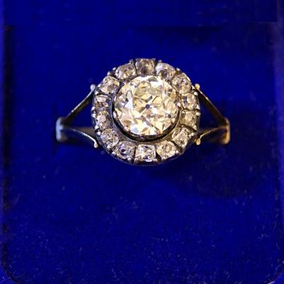 НЕТ В НАЛИЧИИ - лот №J000305 Кольцо с бриллиантами -