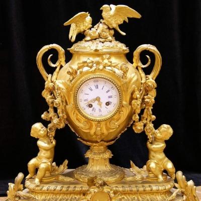 НЕТ В НАЛИЧИИ - лот №C000135 Часы каминные