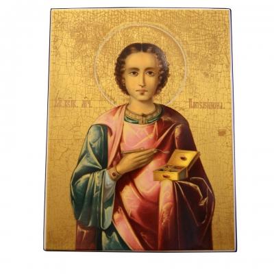 лот №I000167 Святой Пантелеймон