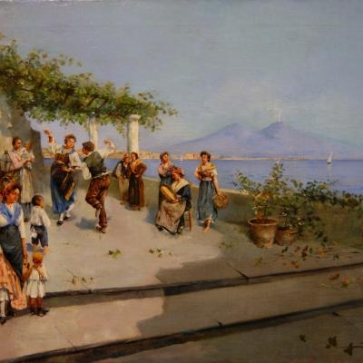 НЕТ В НАЛИЧИИ - лот №A000228 Неаполитанские танцы