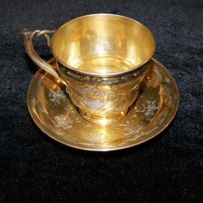 НЕТ В НАЛИЧИИ - лот №S000264 Чайная пара