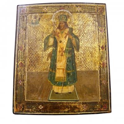 НЕТ В НАЛИЧИИ - лот №I000168 Святитель Иоасаф Белгородский