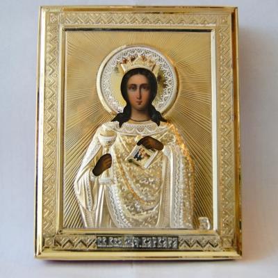 лот №I000209 Икона святой Варвары