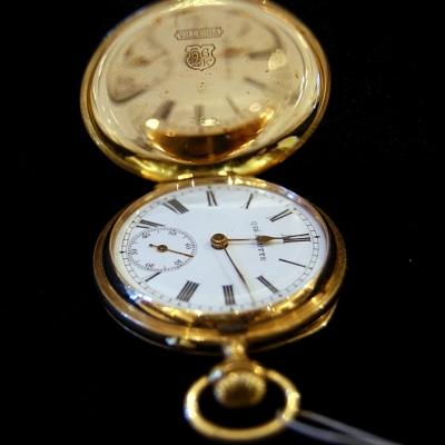 """лот №C000157 Часы-кулон """"Qte Boutte"""""""