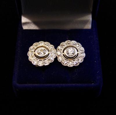 НЕТ В НАЛИЧИИ - лот №J000200 Серьги с бриллиантами