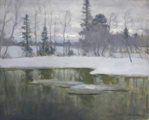 Витольд Каэтанович Бялыницкий-Бируля. Весной повеяло