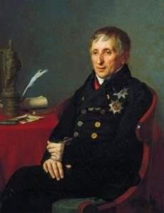 Александр Варнек - портрет Алексея Николаевича Оленина