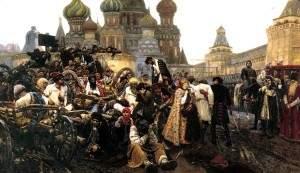 Утро стрелецкой казни. 1881