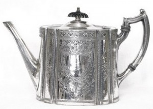 Старинное английское серебро - купить а магазине антиквариата в спб